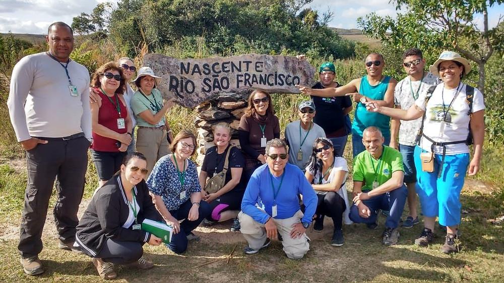 Foto:visita tecnica a Serra da Canastra guias de turismo MG