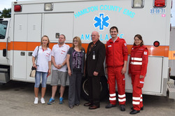 SLOVAKIA & AUSTRIA personnel visit