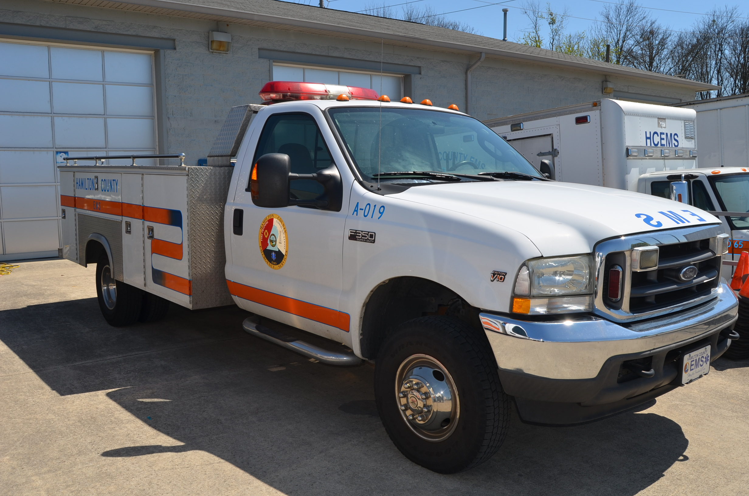 EMS Supply Vehicles