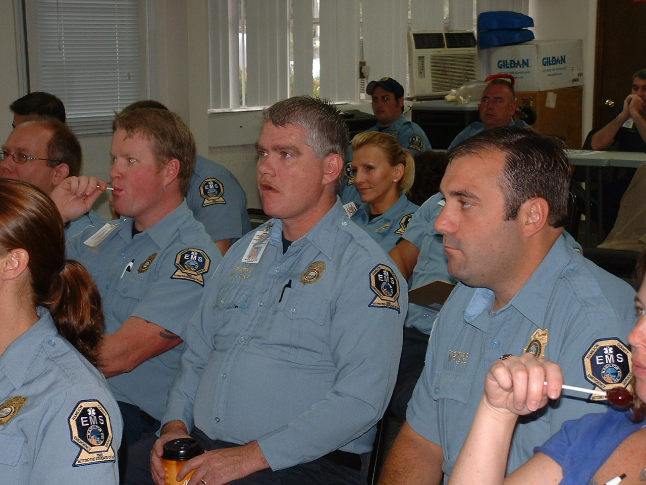 EMS in training