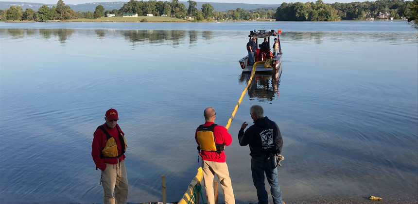 Hazmat Training on the Water