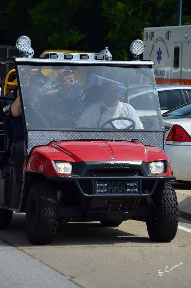 EMS ATV used at Riverbend Festival