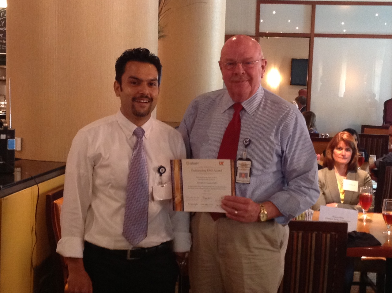 HCEMS receives Award