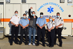A survivor coming to say THANK YOU to EMS employees