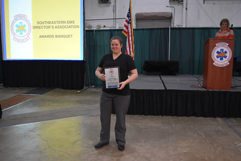 2017 SEEMSDA AEMT of the Year - Callie Evans, Bowater EMS