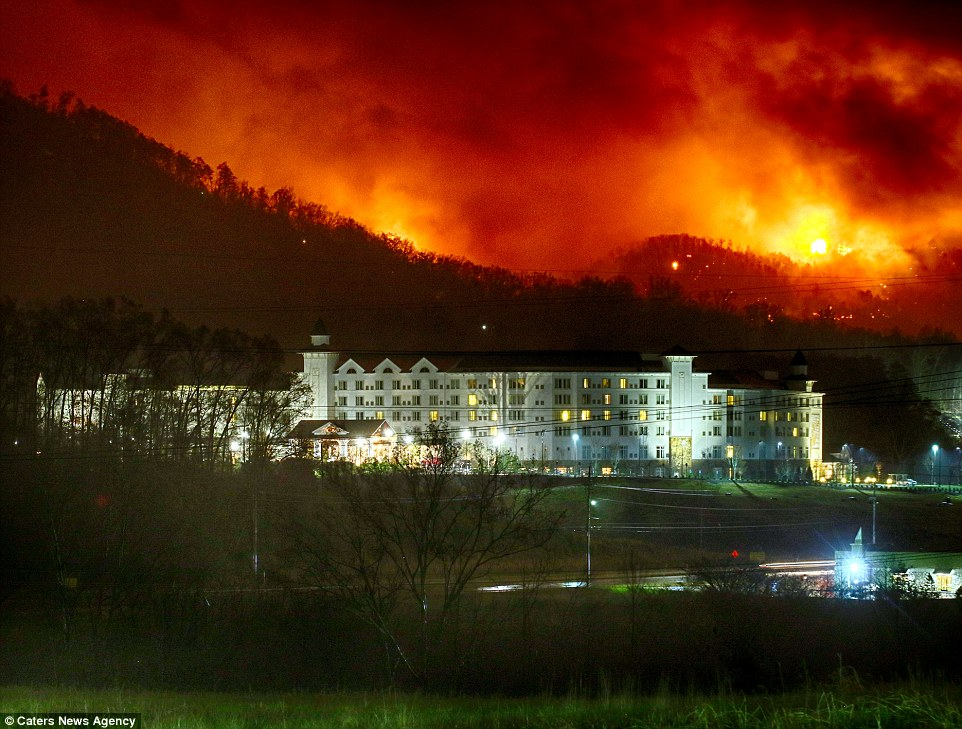 Gatlinburg Wildfires
