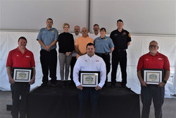 HCEMS recognized civilians for saving a man's life