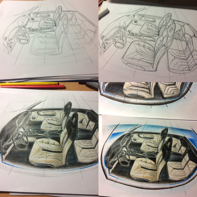 Design interiérů automobilů