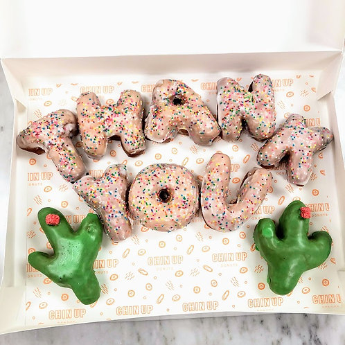 Thank You Donut Letters