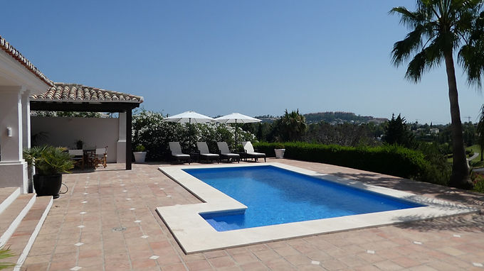 Contemporary Andalusian Villa in the Golf Valley