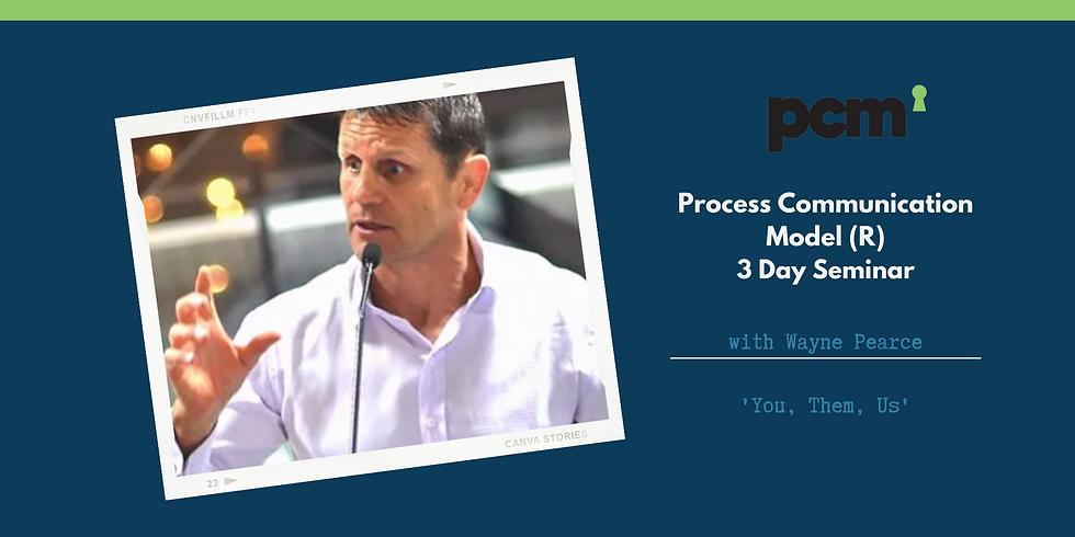 Process Communication Model (R) (PCM) Sydney Event
