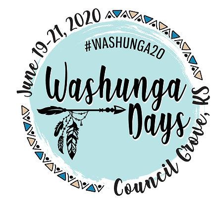 2020 Washunga Days Button