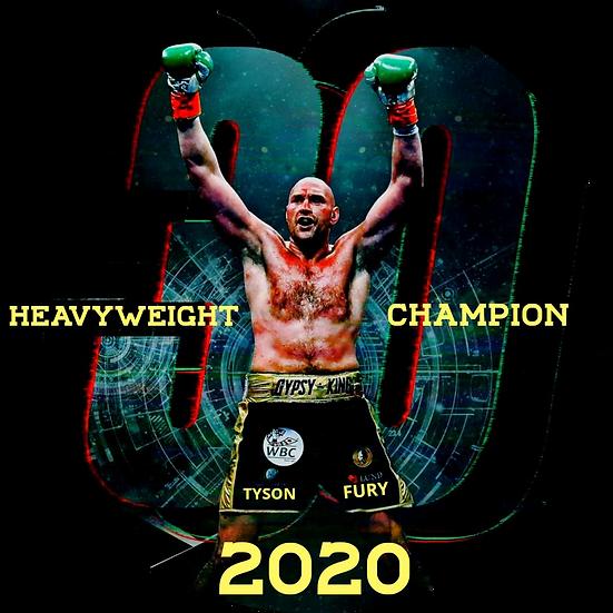 Tyson Fury 2020 Double Sided