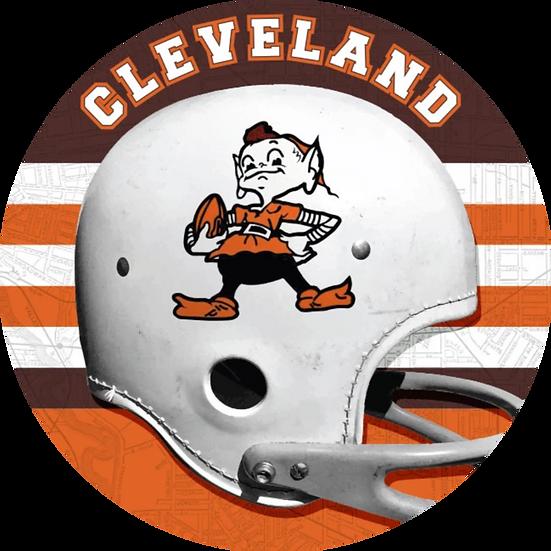 Cleveland Brownie Helmet