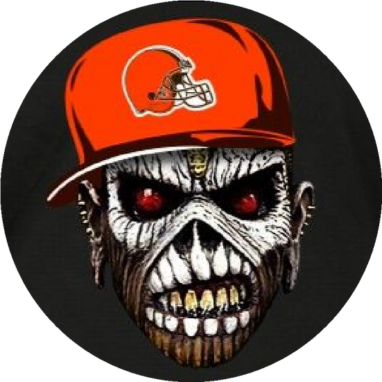 Cleveland Browns Zombie
