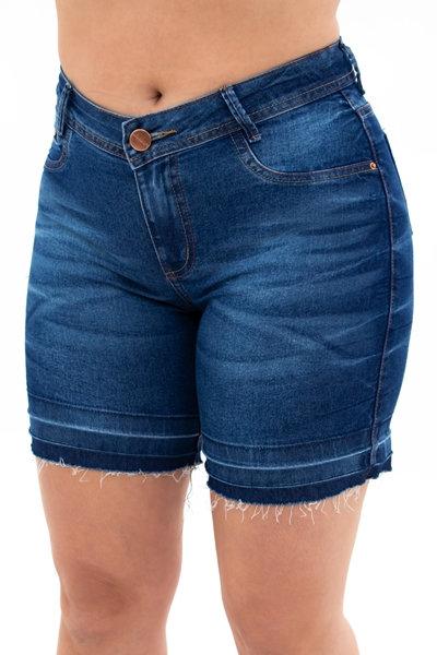 Meia Coxa Jeans Slim - 5794
