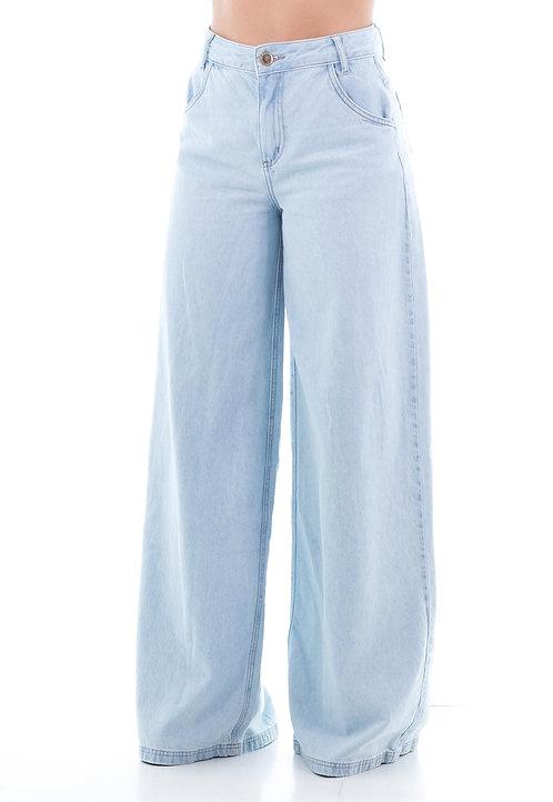Calça Jeans Modelo Pantalona Vitória  - 13502