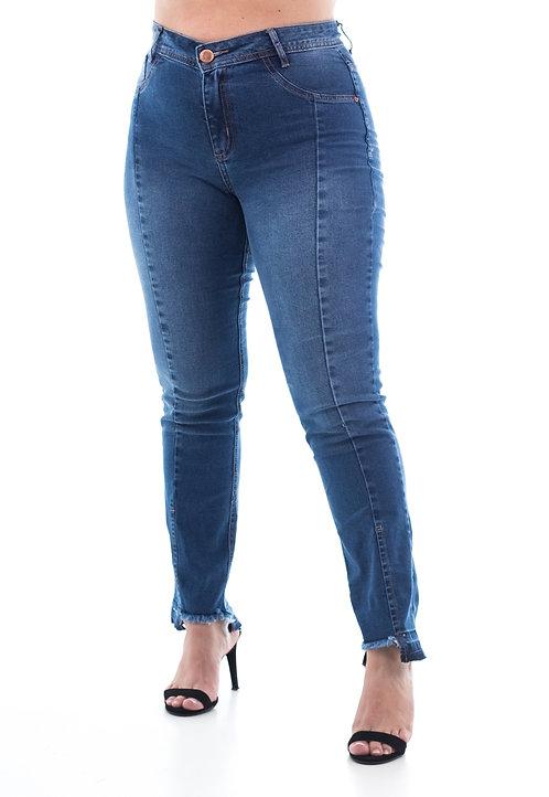 Calça Jeans Modelo Cropped Ádila - 13521