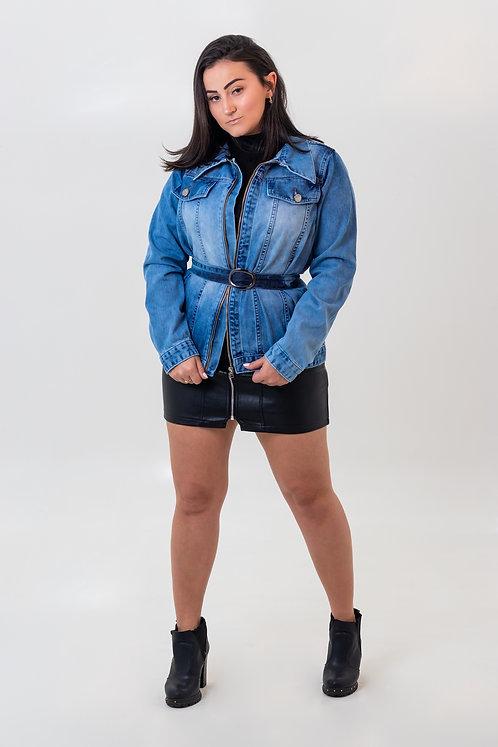 Jaqueta Jeans Zíper - 5431