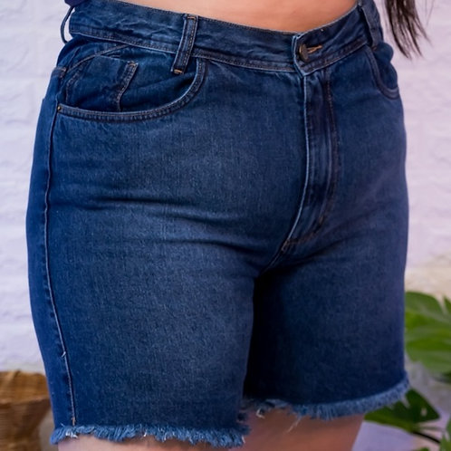 Meia Coxa Jeans Slim -4957