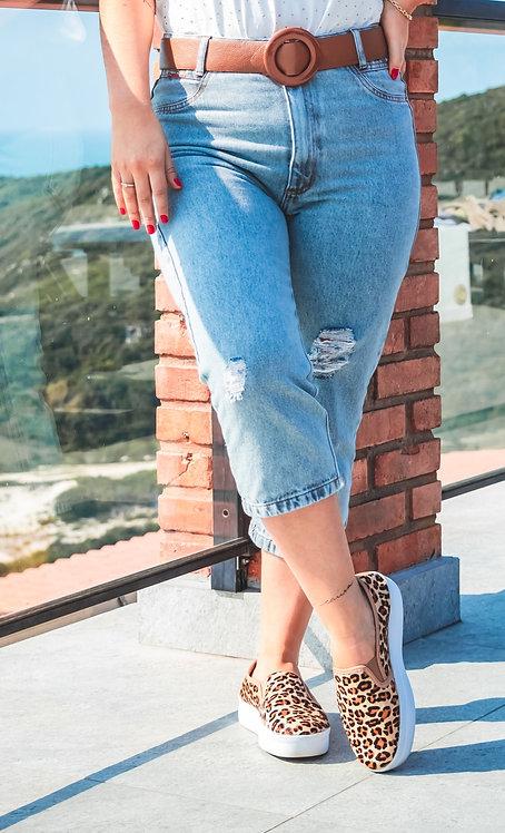 Capri Jeans Modelagem Mom - 688