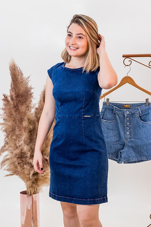 Vestido Jeans  -5447