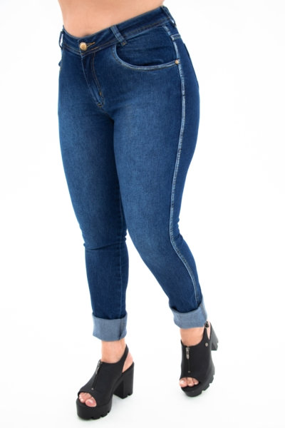 Calça Jeans Modelo Skinny - 10583