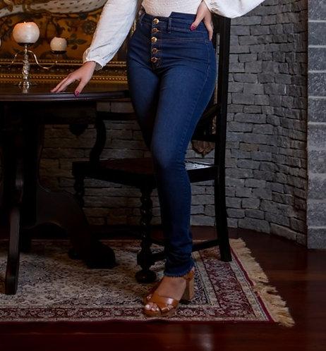 Calça Jeans Modelo Hot Pants Daianny - 13556