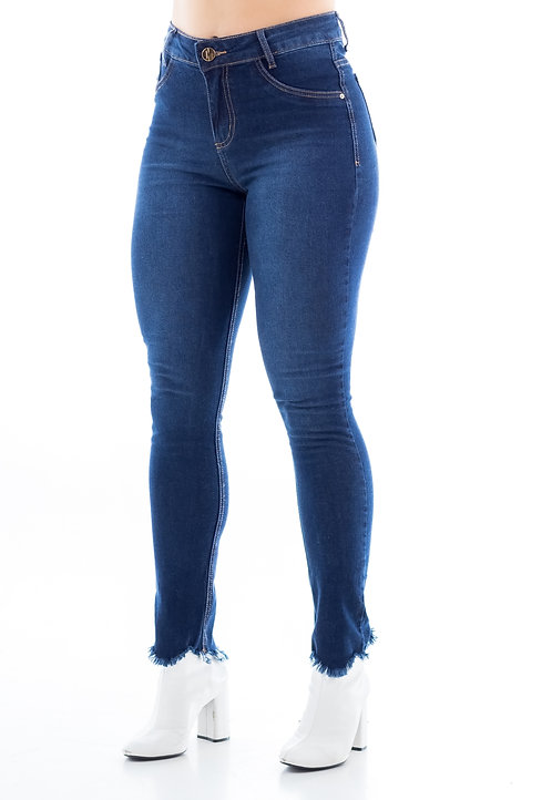 Calça Jeans Modelo Cropped Amanda - 13511