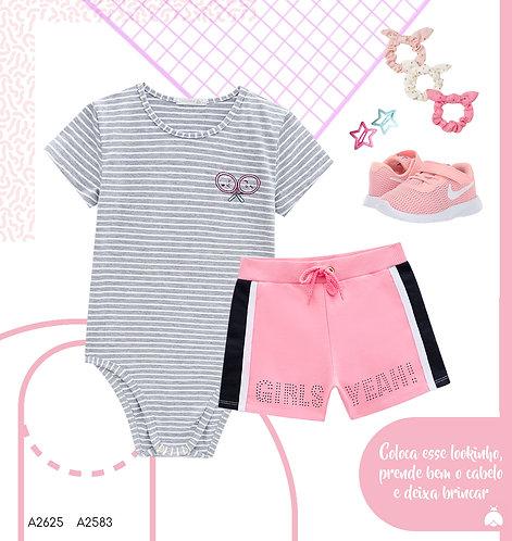 Shorts moletinho Inf -72583