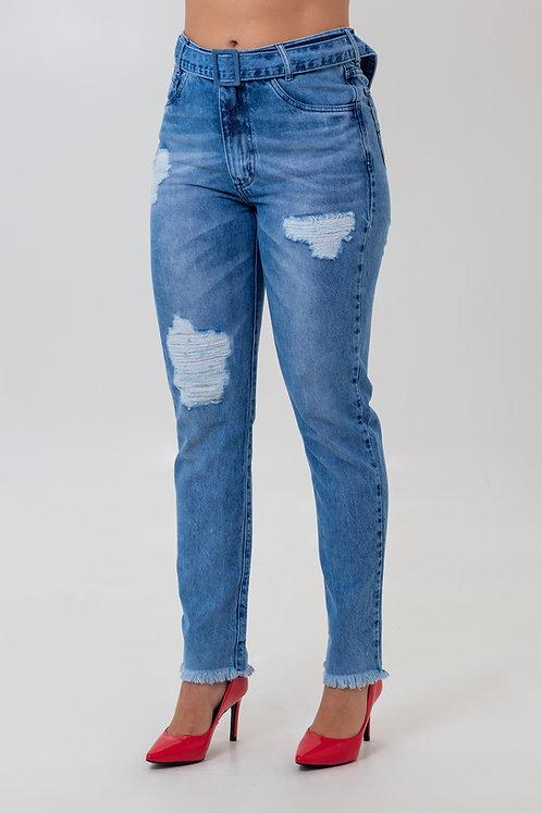 Calça Jeans Modelo Mom - 12552