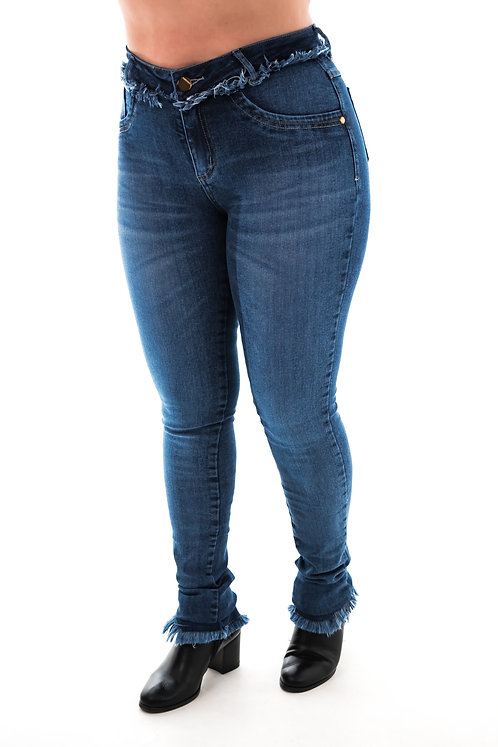 Calça Jeans Modelo Skinny - 12531A
