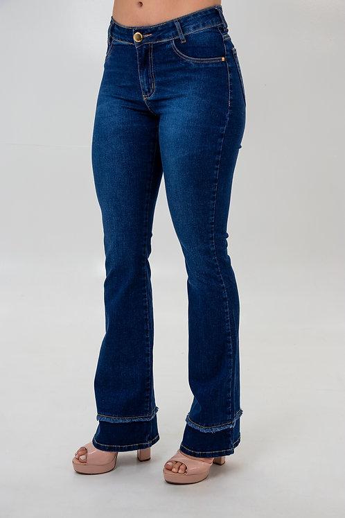 Calça Jeans Modelo Flare - 12561
