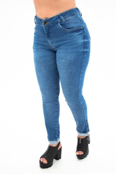 Calça Jeans Modelo Cropped- 10589
