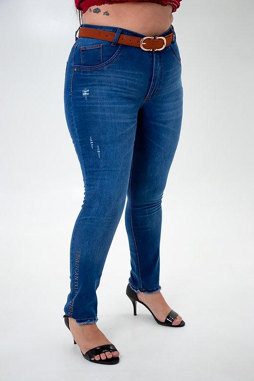 Calça Jeans Modelo Cropped - 12503