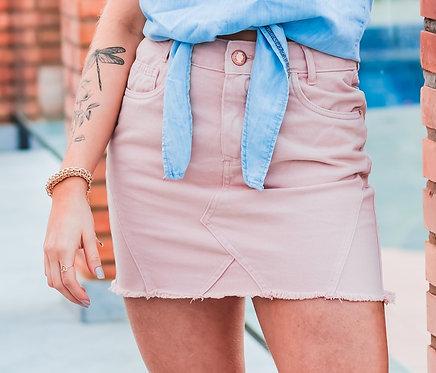 Saia Jeans Hot Pants - 5445