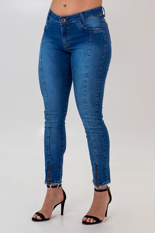 Calça Jeans Modelo Cropped - 11594