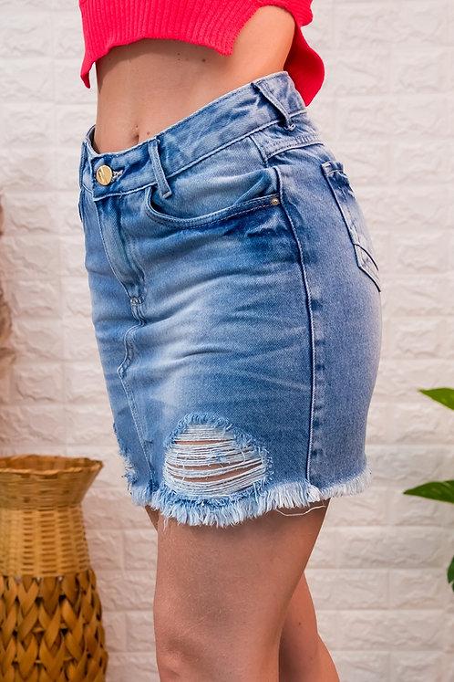 Saia Jeans  -6427