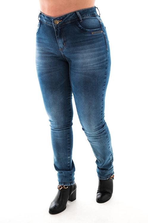 Calça Jeans Modelo Skinny - 12582B