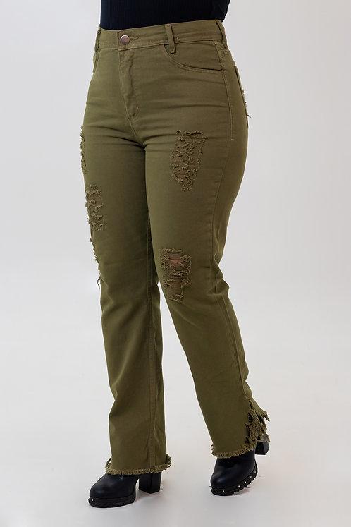 Calça Jeans Modelo Mom - 12564