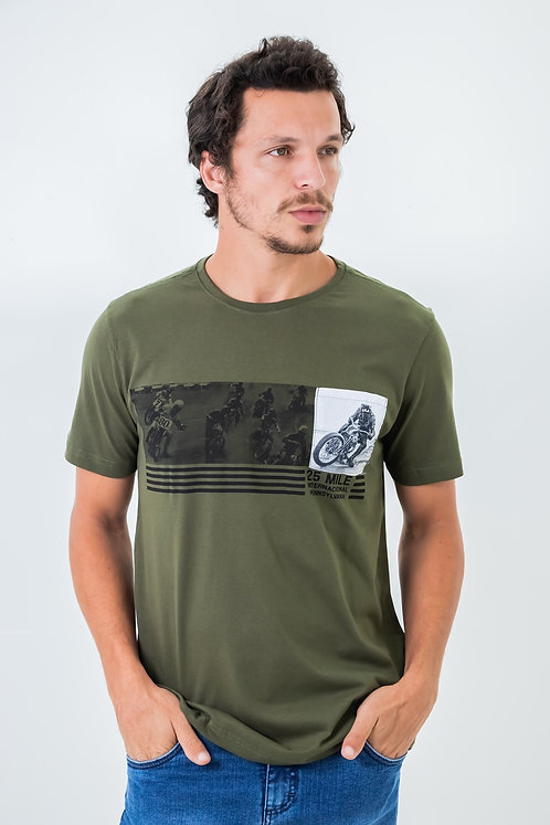 Camiseta Masc M/C - 25020