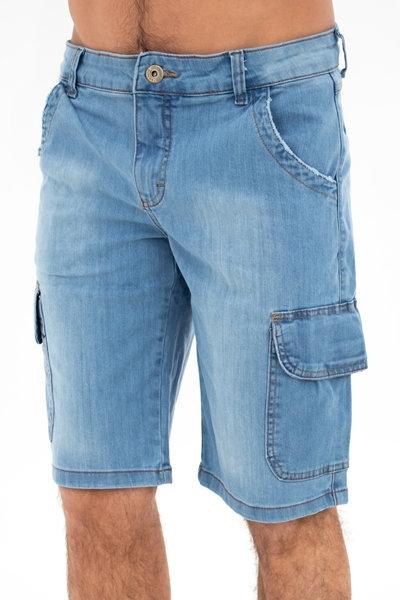 Bermuda Jeans Clássica - 4218