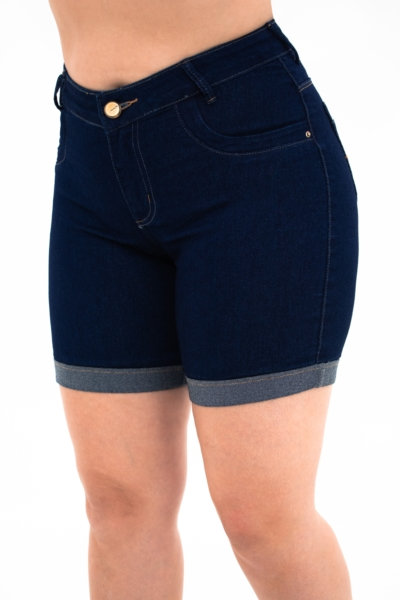 Meia Coxa Jeans Clássica - 3986