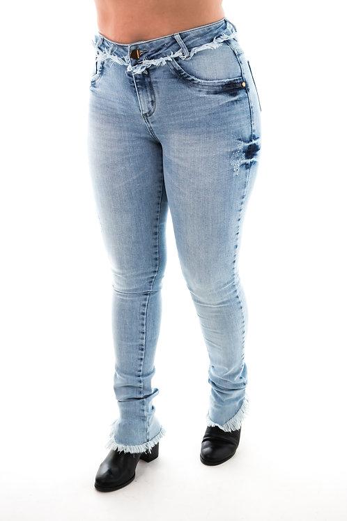 Calça Jeans Modelo Skinny - 12531B