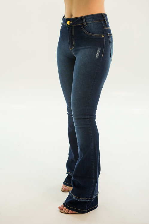 Calça Jeans Modelo Flare Fernanda - 12565