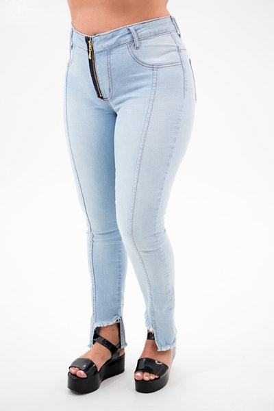Calça Jeans Modelo Cropped - 12515