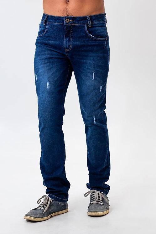 Calça Jeans Modelo Slim - 5196