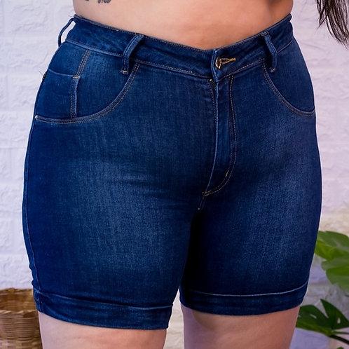 Meia Coxa Jeans Slim -3989A
