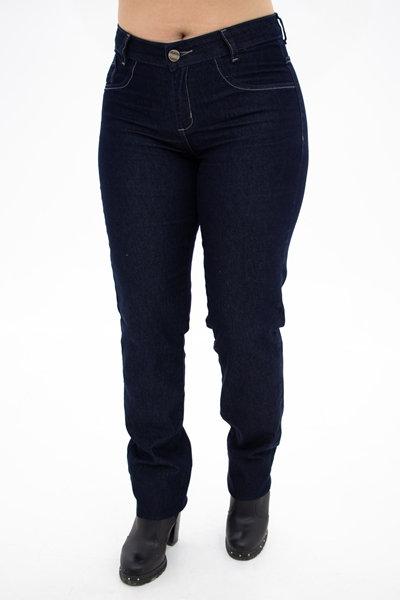 Calça Jeans Modelo Slim - 9554