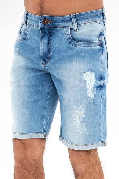 Bermuda Jeans Slim - 3201